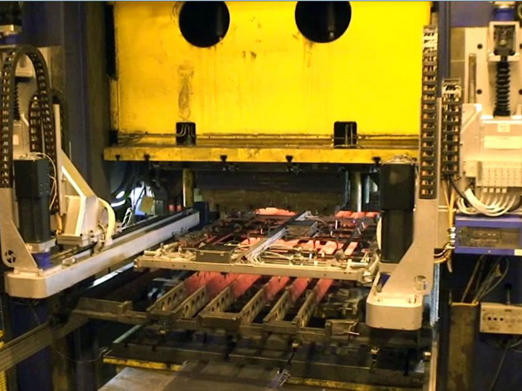 press hardening automation